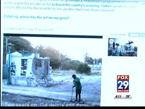 Trending: Social media's role in Haiti's Earthquake
