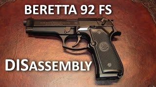 Beretta 92 FS Complete Disassembly (Detail Strip)