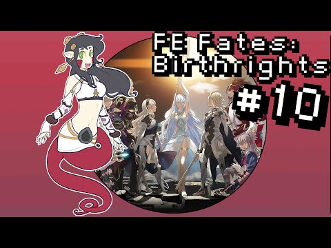 Let's Play Fire Emblem Fates: Birthright [BLIND] PT10 - Capture The Fat