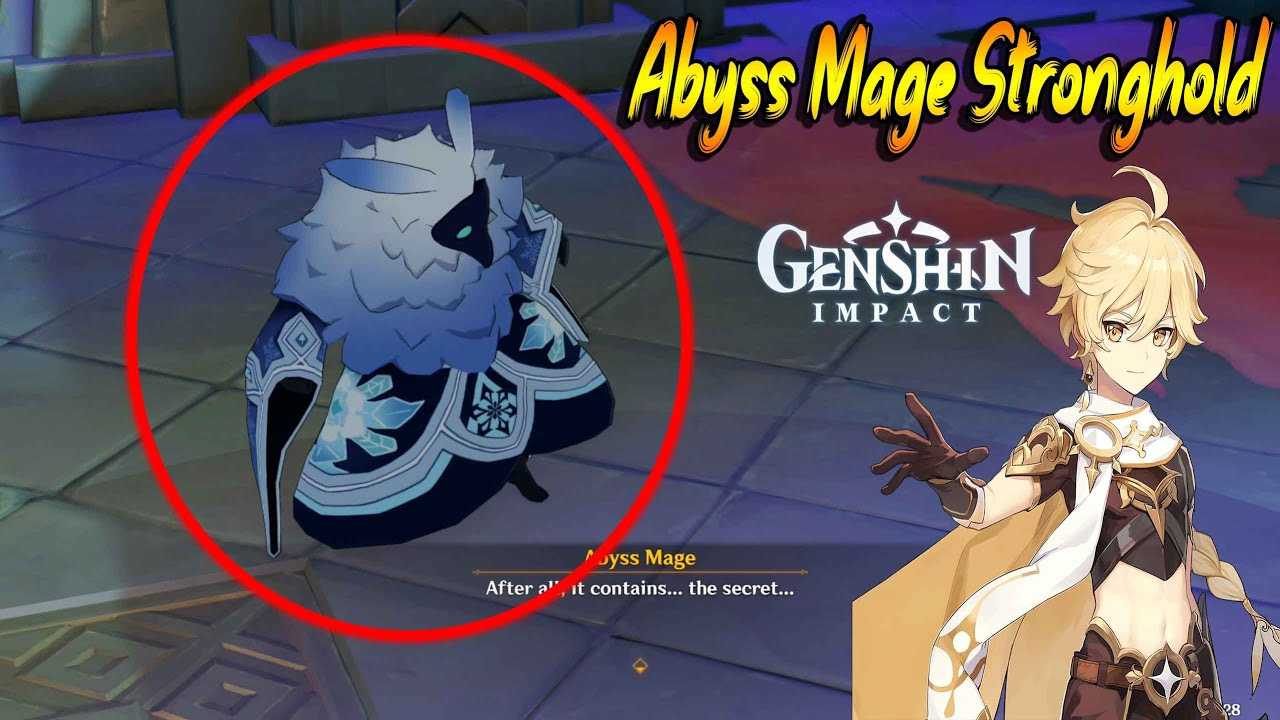 Genshin Impact Abyss Mage Stronghold Lost Book Youtube