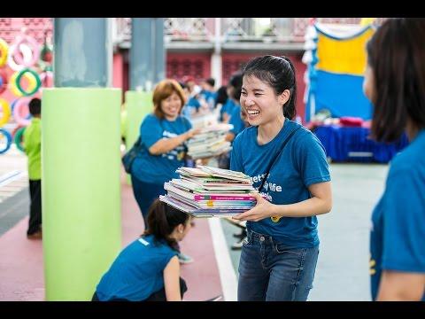 โครงการห้องสมุดในฝัน ร.ร.คลองปลัดเปรียง | IKEA Thailand Dream Library Project
