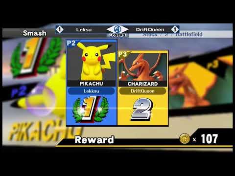 Lantrek 2018 - WiiU Singles - Losers Round 3 - Driftqueen(Charizard) vs Leksu(Pikachu)