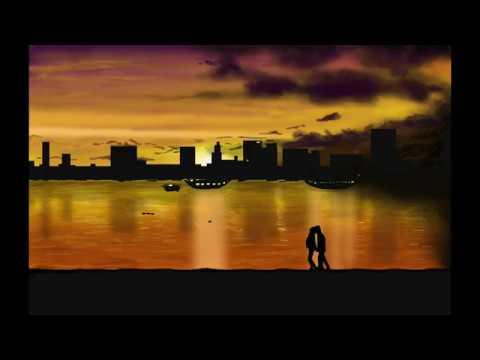 Photoshop【Speed Drawing】Digital Art #15 Sunset