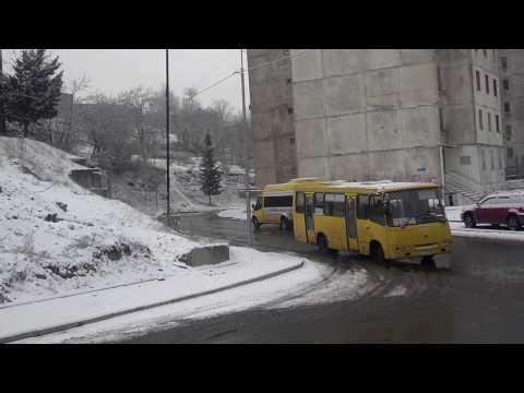 Tbilisi snow. 01.02.2017