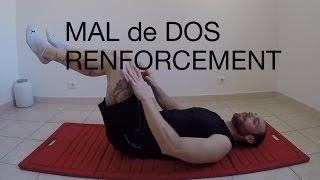 RENFORCER LES ABDOS PROFOND (mal de dos)