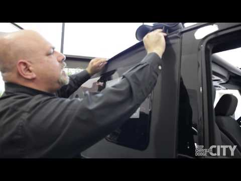 Video Guide: 2014 Jeep Wrangler Top Removal Demonstration by Jeep Chrysler Dodge City