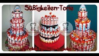 Süßigkeiten-Torte / Schokoriegel-Torte || How to make a Candy Cake / Chocolate Bar Cake