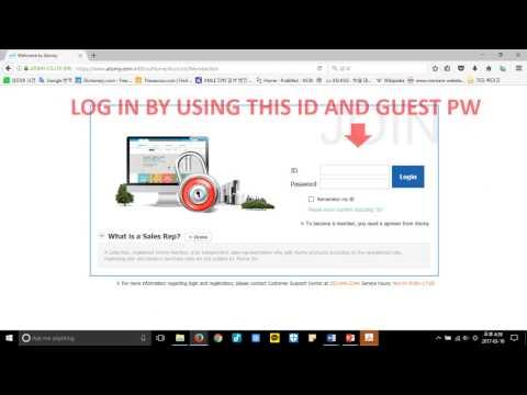 Atomy Registration Instructions (USA)