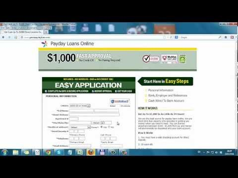 Instant Decision Payday Loans almz2016 - Direct Lender Payday Loans from YouTube · Duration:  1 minutes 10 seconds  · 901 views · uploaded on 9/19/2016 · uploaded by Rebbeca B. Boykins