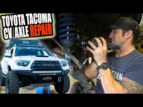 Toyota Tacoma Cv Axle Replacement DIY