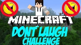 Minecraft Challenge: Dont Laugh Challenge- Then the Water Comes!