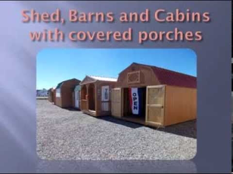 Chino Valley AZ Sheds Portable Buildings Barns Garages Cabins Rent Lease  Williams Ashfork Seligman
