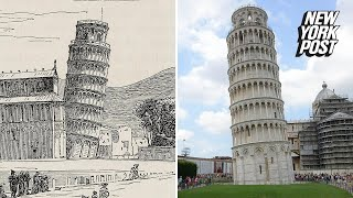 The mysterious reason why the Leaning Tower of Pisa leans
