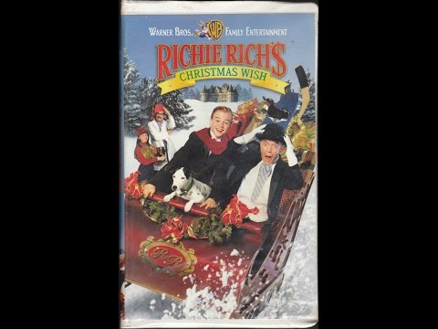 Opening To Richie Rich's Christmas Wish 1998 VHS