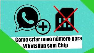 Como Criar Número para WhatsApp sem Chip