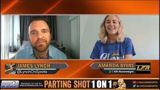 Firefighter Amanda Byers talks LFA debut & drop to Atomweight on June 1st
