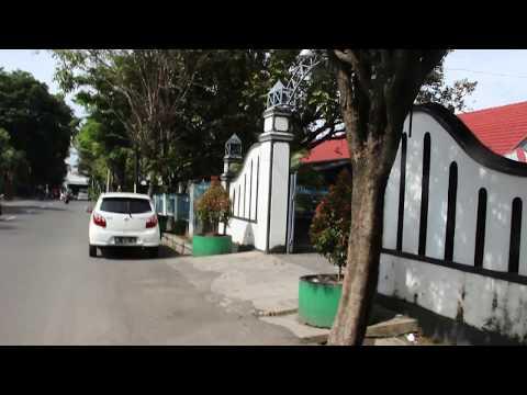 Depan sekolah SMK Kristen 2 Surakarta