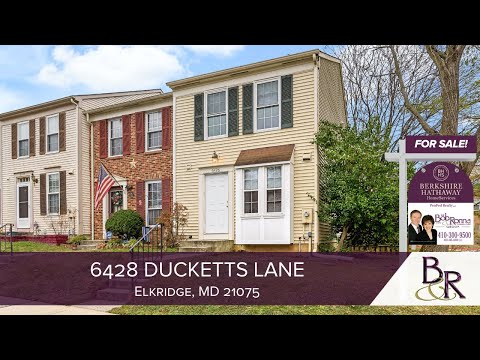 6428 Ducketts Lane - Presented by The Bob & Ronna Group of Berkshire Hathaway HomeServices