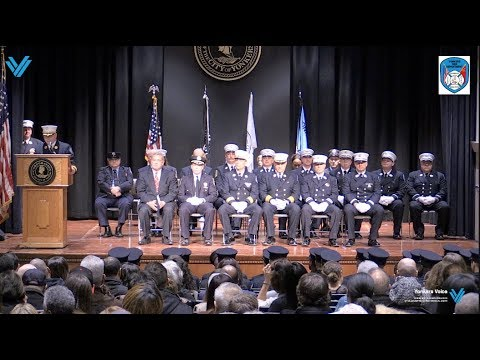 Graduation Ceremony for 30 Probationary FIREFIGHTER!