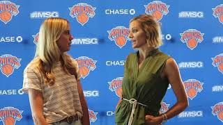 Talking the New York Knicks and fashion with Rebecca Haarlow