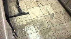 Tile cleaning at Anglers Club, Key Largo