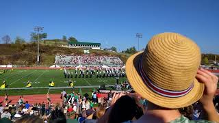 SRU Marching Pride Homecoming performance with Alumni Band 2017