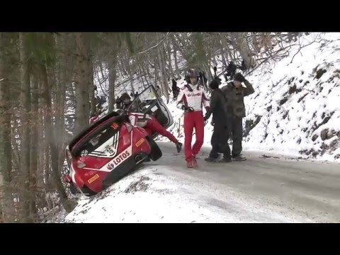 Icy Roads Cause Trouble at Rallye Monte-Carlo | FIA World Rally Championship 2016