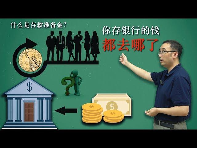 你存银行的钱都去哪了?国家是如何通过存款准备金调控经济的?李永乐老师讲货币体系(2018最新)