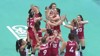 Women's VNL 2018: United States v Turkey - Full Match (Finals - Match 121)
