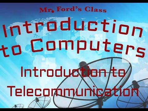 Telecommunication : Foundations of Telecommunication (05:01)