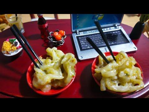 Miniature Cheesy Mayonnaise Maggie 🍝 🍜 recipe | Tiny Kitchen