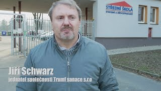 Trumf sanace s.r.o. - přednáška o Systému AquaStop Cream® na SŠ stavební a dřevozpracující