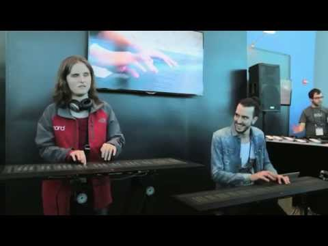 Rachel Flowers gives an impromptu Seaboard GRAND performance at NAMM 2015