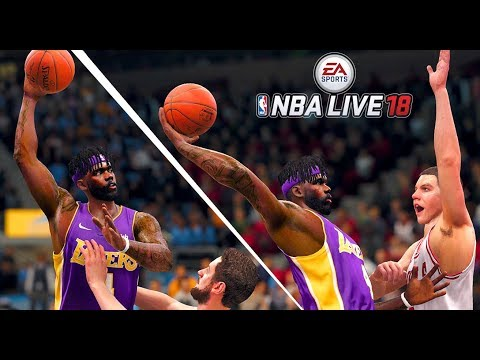 NBA LIVE 18 THE ONE CAREER - BRAND NEW ARCHETYPE & HAIR STYLE CHANGE!!