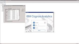 Basic IBM Cognos Analytics & IBM Planning Analytics integration with CAM Security