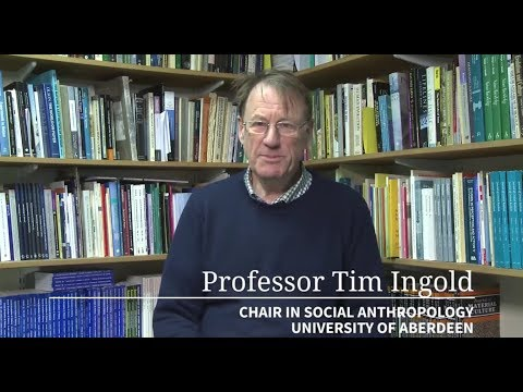 "Prof. Tim Ingold: ""Environments for life"" - Puebla Conference, Mexico 18/09/2017"