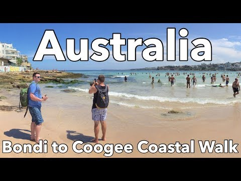 Sydney - Bondi to Coogee Coastal Walk