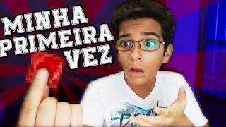 A MINHA PRIMEIRA VEZ!!! ( ͡° ͜ʖ ͡°) |#DeniResponde11