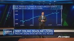 Congress scrambles to deal with debt ceiling