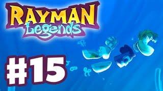 Rayman Legends - Gameplay Walkthrough Part 15 - 20,000 Lums Under the Sea (PS3, Wii U, Xbox 360, PC)