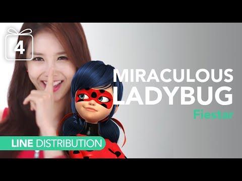 피에스타 Fiestar - Miraculous Ladybug Theme Song | Line distribution