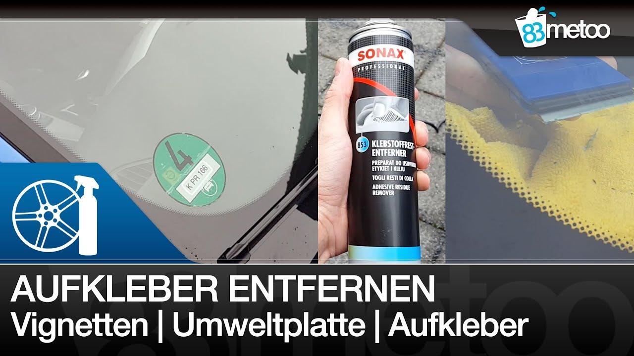 Umweltplakette Entfernen Vignetten Einfach Entfernen Aufkleber Autolack Entfernen 83metoo
