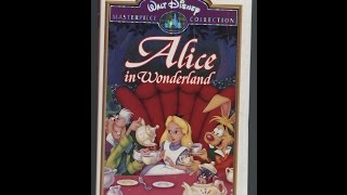 Opening To Alice In Wonderland 1995 VHS