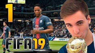 FIFA 19 El Trayecto CAPITULO 1 - ALEX HUNTER Gameplay Fran MG | Modo Historia COMPLETO