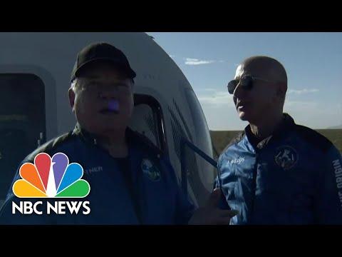 'The Most Profound Experience': William Shatner Speaks After Blue Origin Spaceflight