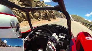Dakar Rally Champ Hiroshi Masuoka 3rd Place Pikes Peak Run - POV
