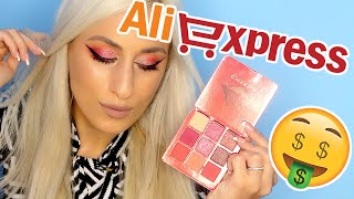 $4 HUDA BEAUTY 9-COLOR Obsessions Eyeshadow Palette DUPE?!