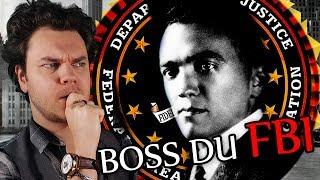L'homme de l'Ombre le Plus Craint d'Amérique (BULLE : Edgar Hoover)