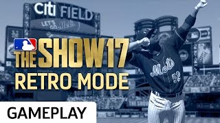 Playing A Full Retro Mode Game In MLB The Show 17