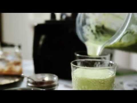 Amelia Freer's Pear and Almond Smoothie - from Eat. Nourish. Glow.
